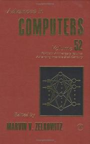 Cover of: Advances in Computers, Volume 52 40th Anniversary Volume | Marvin Zelkowitz
