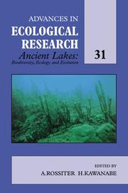 Cover of: Ancient Lakes |
