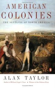 Cover of: American Colonies | Alan Taylor, Taylor, Alan
