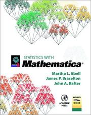 Cover of: Statistics with Mathematica
