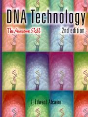 Cover of: DNA Technology, Second Edition | I. Edward Alcamo