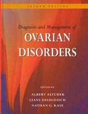 Cover of: Diagnosis and management of ovarian disorders |