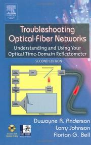 Cover of: Troubleshooting optical-fiber networks