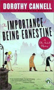 The importance of being Ernestine by Dorothy Cannell