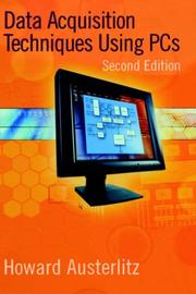 Cover of: Data Acquisition Techniques Using PCs (IDC Technology)