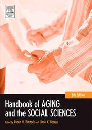 Cover of: Handbook of aging and the social sciences