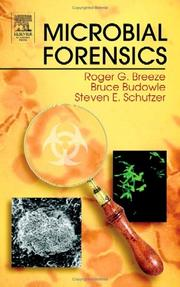 Cover of: Microbial forensics |