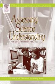 Cover of: Assessing science understanding