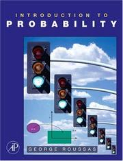 Cover of: Introduction to Probability