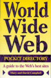 Cover of: World Wide Web pocket directory