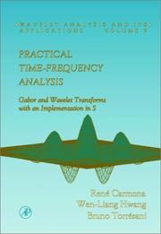 Cover of: Practical time-frequency analysis