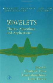 Cover of: Wavelets, Volume 5 |