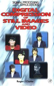 Cover of: Digital compression of still images and video