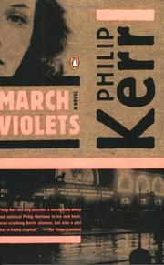 Cover of: March violets