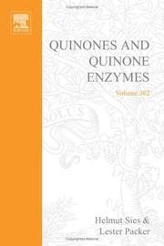 Cover of: Quinones and quinone enzymes |