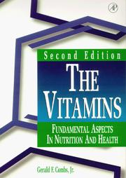 Cover of: The Vitamins | Jr., Gerald F. Combs