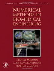 Cover of: Numerical Methods in Biomedical Engineering | Stanley Dunn