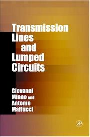 Cover of: Transmission Lines and Lumped Circuits (Electromagnetism) | Giovanni Miano