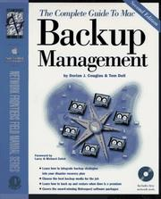 Cover of: The complete guide to Mac backup management