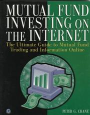 Cover of: Mutual fund investing on the Internet