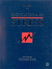 Cover of: Encyclopedia of Stress (Three-Volume Set) | George Fink
