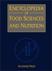 Cover of: Encyclopedia of Food Sciences and Nutrition, Ten-Volume Set, Second Edition |