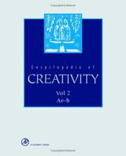 Cover of: Encyclopedia of creativity |