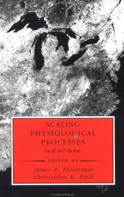 Cover of: Scaling Physiological Processes |