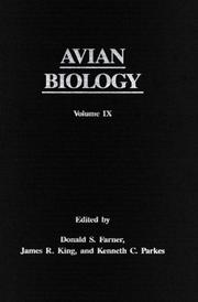 Cover of: Avian Biology | Donald S. Farner