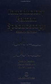 Cover of: Introductory Raman Spectroscopy, Second Edition | John R. Ferraro
