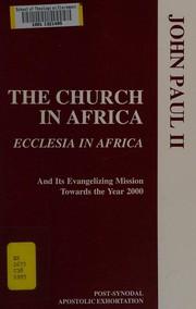The Church in Africa