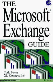 Cover of: Microsoft exchange guide | Todd Foley
