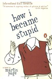 Cover of: How I became stupid