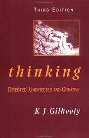 Cover of: Thinking