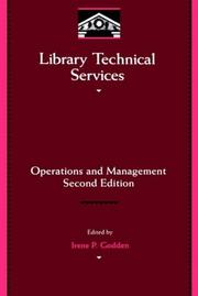 Cover of: Library Technical Services | Irene Godden
