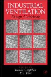 Cover of: Industrial ventilation design guidebook |