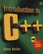 Cover of: Introduction to C++ | Heller, Steve