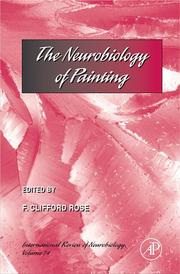 Cover of: The neurobiology of painting |