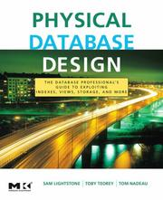 Cover of: Physical database design by