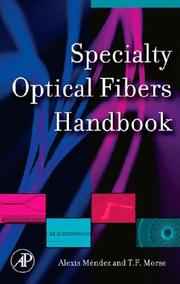 Cover of: Specialty Optical Fibers Handbook |