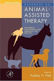 Cover of: Handbook on Animal-Assisted Therapy, Second Edition | Aubrey H. Fine