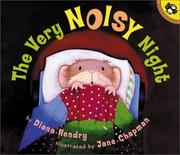 Cover of: The Very Noisy Night (Picture Puffins) | Diana Hendry