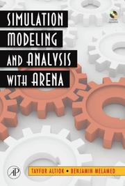 Cover of: Simulation Modeling and Analysis with ARENA | Tayfur Altiok