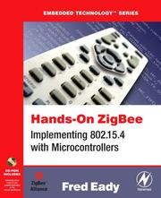 Cover of: Hands-On ZigBee | Fred Eady