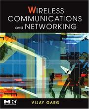 Cover of: Wireless Communications & Networking (The Morgan Kaufmann Series in Networking) | Vijay Garg