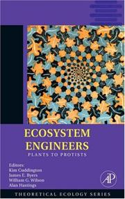 Cover of: Ecosystem engineers |