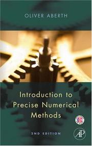Cover of: Introduction to Precise Numerical Methods
