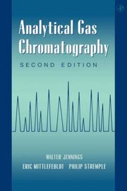 Cover of: Analytical gas chromatography