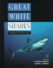Cover of: Great white sharks |