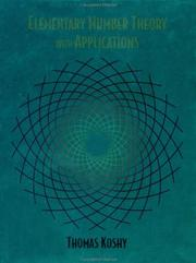Cover of: Elementary Number Theory with Applications | Thomas Koshy